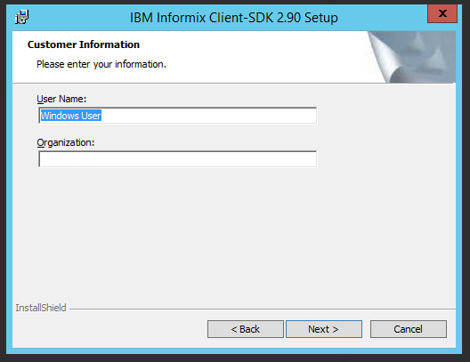 Informix ODBC Driver Installation [Migration by Ispirer SQLWays]
