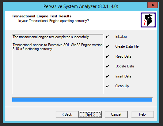 Pervasive ODBC Driver Installation [Migration by Ispirer SQLWays]